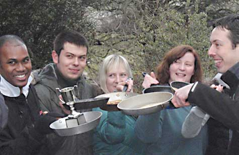 Troutbeck Pancake Race
